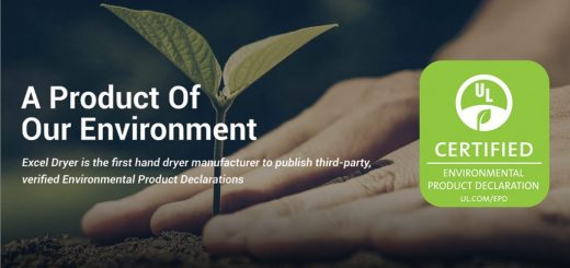 Hand Dryer Manufacturer with Certified Environmental Product Declaration