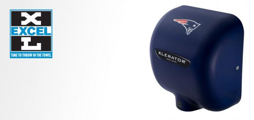 Hand Dryer with Patriots Custom Cover