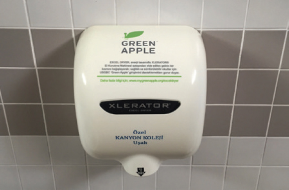 Green Apple XLERATOR handdrogers