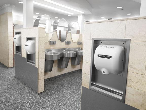 XLERATOR Hand Dryer Installed At Grand Central Station