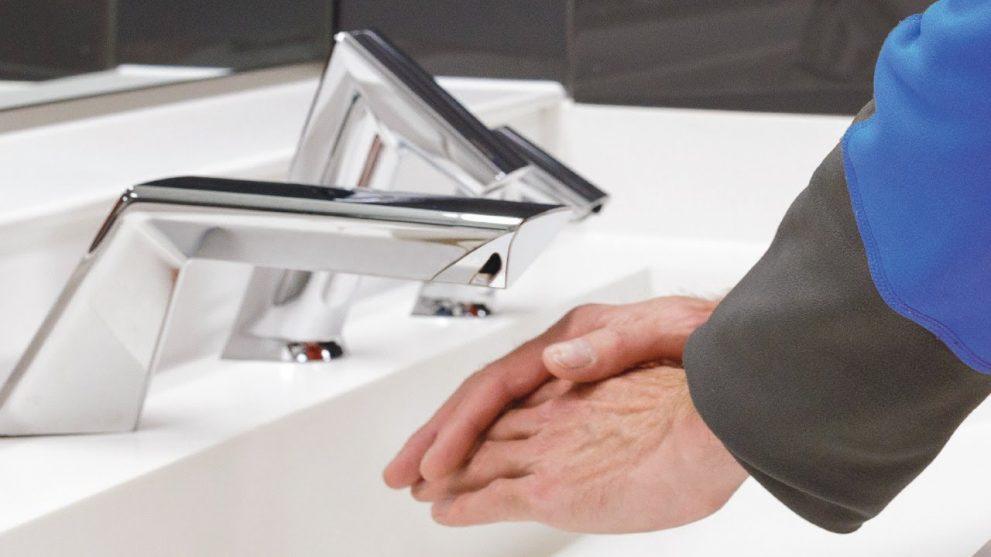 Gillette Stadium Sink System