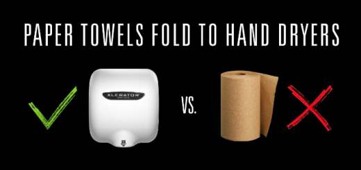 Paper Towels vs Hand Dryers